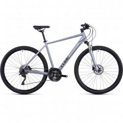 Bicicleta CUBE NATURE EXC Polarsilver Black