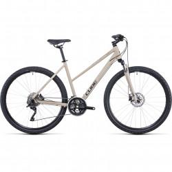 Bicicleta CUBE NATURE PRO TRAPEZE Desert Black