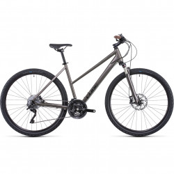 Bicicleta CUBE NATURE SL TRAPEZE Teak Black