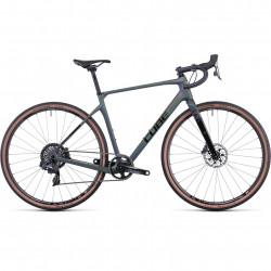 Bicicleta CUBE NUROAD C:62 SLT Flatprizmblack Black
