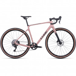 Bicicleta CUBE NUROAD WS C:62 PRO Blush Black