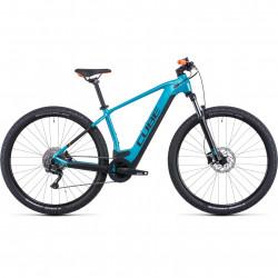 Bicicleta CUBE REACTION HYBRID ONE 625 Aquamarine Orange