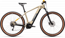 BICICLETA CUBE REACTION HYBRID PERFORMANCE 400 Desert Orange