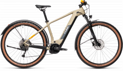 BICICLETA CUBE REACTION HYBRID PERFORMANCE 500 ALLROAD Desert Orange