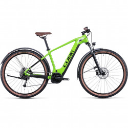 Bicicleta CUBE REACTION HYBRID PERFORMANCE 625 ALLROAD Shinyapple Black
