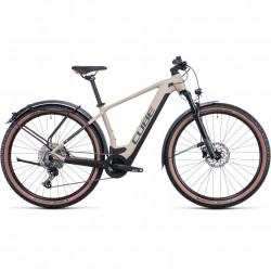 Bicicleta CUBE REACTION HYBRID PRO 500 ALLROAD Desert Orange