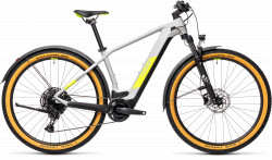 BICICLETA CUBE REACTION HYBRID PRO 625 29 ALLROAD Grey Yellow