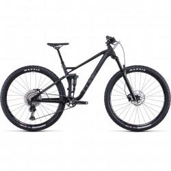 Bicicleta CUBE STEREO 120 RACE Black Anodized