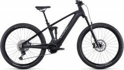 Bicicleta CUBE STEREO HYBRID 120 SL 625/750 Black Metal