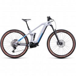 Bicicleta CUBE STEREO HYBRID 140 HPC PRO 625 Prismagrey Blue