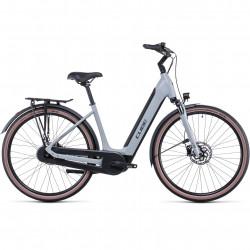 Bicicleta CUBE SUPREME HYBRID ONE 400 EASY ENTRY Lunar Grey