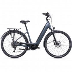 Bicicleta CUBE SUPREME SPORT HYBRID PRO 500 EASY ENTRY Grey Grey