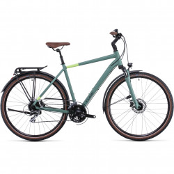 Bicicleta CUBE TOURING ONE Green Sharpgreen