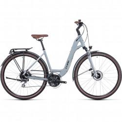 Bicicleta CUBE TOURING PRO EASY ENTRY Lunar Grey