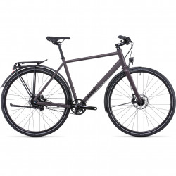 Bicicleta CUBE TRAVEL SL Blackred Red