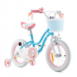 "Bicicleta RoyalBaby Star Girl 16"" Blue"