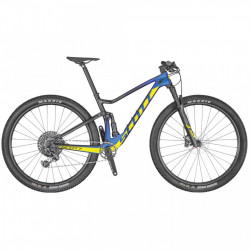 Bicicleta Scott Spark RC900 Team AXS Prim purple radium yellow marime cardu L