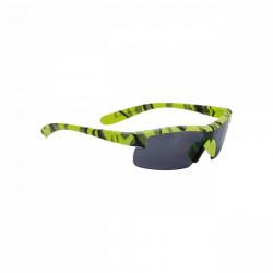 Ochelari soare copii BBB BSG-54 camuflaj galben neon mat