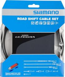 Set cablu/camasa frana Shimano Ultegra 6800 Polymer Coated Negru