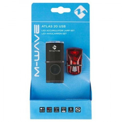 Set Far+Stop M-Wave Atlas 20 USB 1W/0.5W