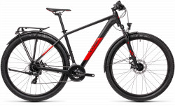 BICICLETA CUBE AIM ALLROAD Black Red