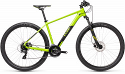 BICICLETA CUBE AIM PRO Green Black