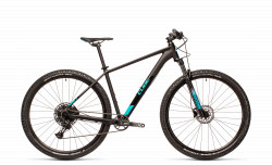 BICICLETA CUBE ANALOG Black Petrol RS