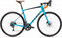 BICICLETA CUBE ATTAIN GTC SL Petrol Orange