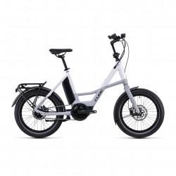 Bicicleta CUBE COMPACT HYBRID 500 Grey White