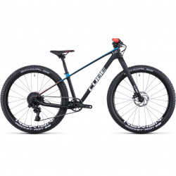 Bicicleta CUBE ELITE 240 C:62 SL Carbon Blue Red