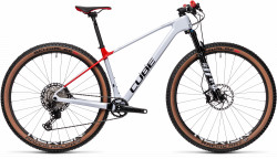 BICICLETA CUBE ELITE C:68X PRO Flashwhite Red