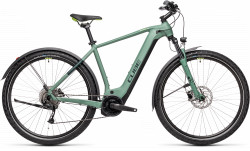BICICLETA CUBE NATURE HYBRID ONE 500 ALLROAD Green Sharpgreen