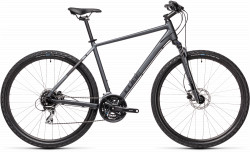 BICICLETA CUBE NATURE Iridium Black