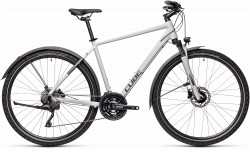 BICICLETA CUBE NATURE PRO ALLROAD Grey Iridium