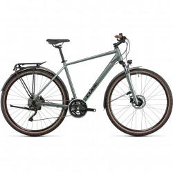 Bicicleta CUBE NATURE PRO ALLROAD Silvergreen Black