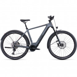 Bicicleta CUBE NURIDE HYBRID SL 750 ALLROAD Flashgrey Orange