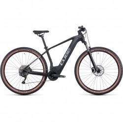 Bicicleta CUBE REACTION HYBRID ONE 625 Black Metal