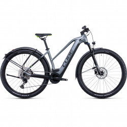 Bicicleta CUBE REACTION HYBRID PRO 625 ALLROAD TRAPEZE Flashgrey Green