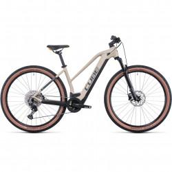 Bicicleta CUBE REACTION HYBRID PRO 625 TRAPEZE Desert Orange