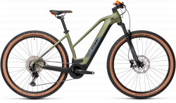 BICICLETA CUBE REACTION HYBRID RACE 625 29 Green Orange