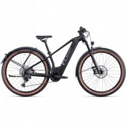 Bicicleta CUBE REACTION HYBRID SL 625/750 ALLROAD 29 Black Metal