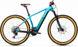 BICICLETA CUBE REACTION HYBRID SLT 625 29 Petrol Peach