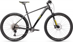BICICLETA CUBE REACTION PRO Grey Yellow
