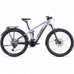 Bicicleta CUBE STEREO HYBRID 120 RACE ALLROAD 625 Polarsilver Black