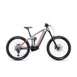 Bicicleta CUBE STEREO HYBRID 160 HPC SL 625/750 27.5 Polarsilver Orange