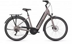 Bicicleta CUBE SUPREME SPORT HYBRID SL 625 EASY ENTRY Teak Black