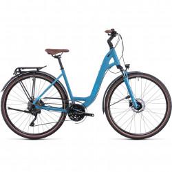 Bicicleta CUBE TOURING EXC EASY ENTRY Sphereblue Blue
