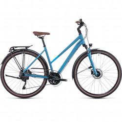 Bicicleta CUBE TOURING EXC TRAPEZE Sphereblue Blue
