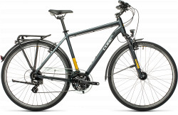 BICICLETA CUBE TOURING Grey Yellow