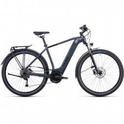Bicicleta CUBE TOURING HYBRID ONE 625 Grey Blue